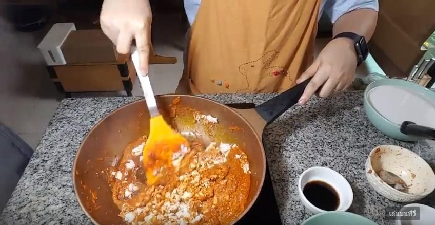 ขนมจีนแกงไก่ใส่ตีน เมนูอาหารไทยแซ่บๆ ง่ายๆ