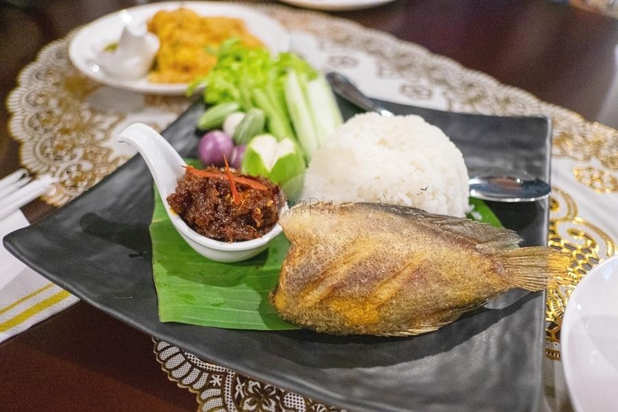 kannika garden @บ้านสวนปรีดา ศาลายา อาหารอร่อย น้ำพริกปลาสลิด