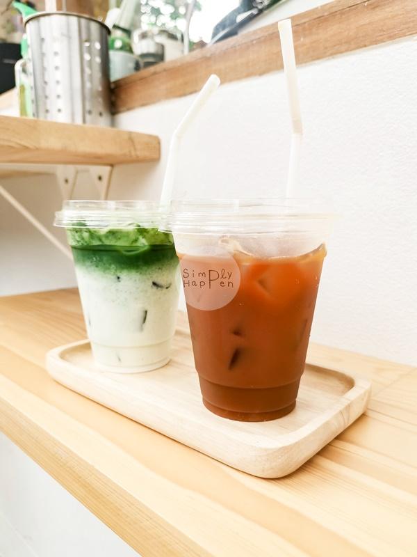 black orange กาแฟส้ม และ ชาเขียวมัทชะเย็น ร้านลมเหนือ Specialty Coffee กาแฟสกัดด้วยเครื่อง ARAM ซ.เทอดไท 60 ภาษีเจริญ