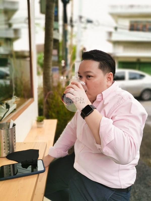 ที่นั่งร้านลมเหนือ Specialty Coffee กาแฟสกัดด้วยเครื่อง ARAM ซ.เทอดไท 60 ภาษีเจริญ